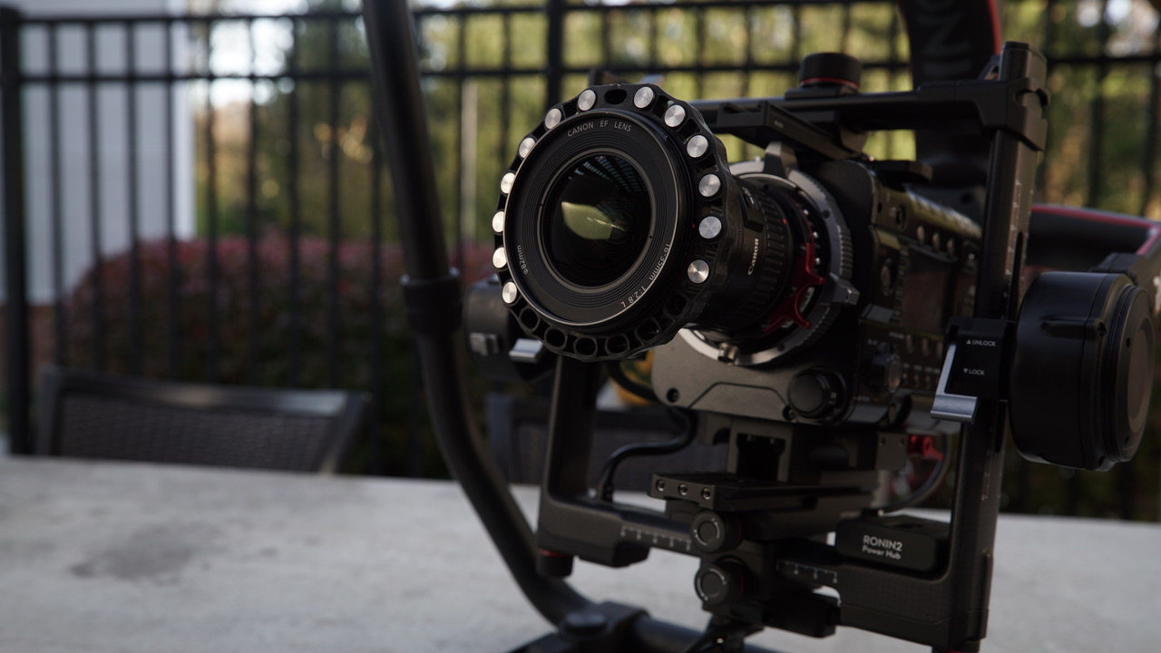 With StabiLens I can hot-swap lenses on my gimbal