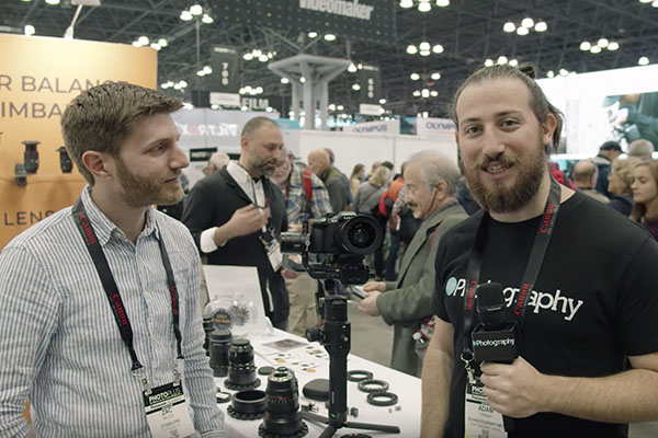 Stabilens means never rebalancing your gimbal when you swap lenses